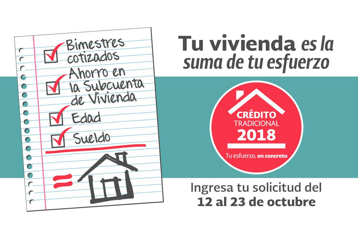 Inicia registro de solicitudes para Créditos Tradicionales 2018
