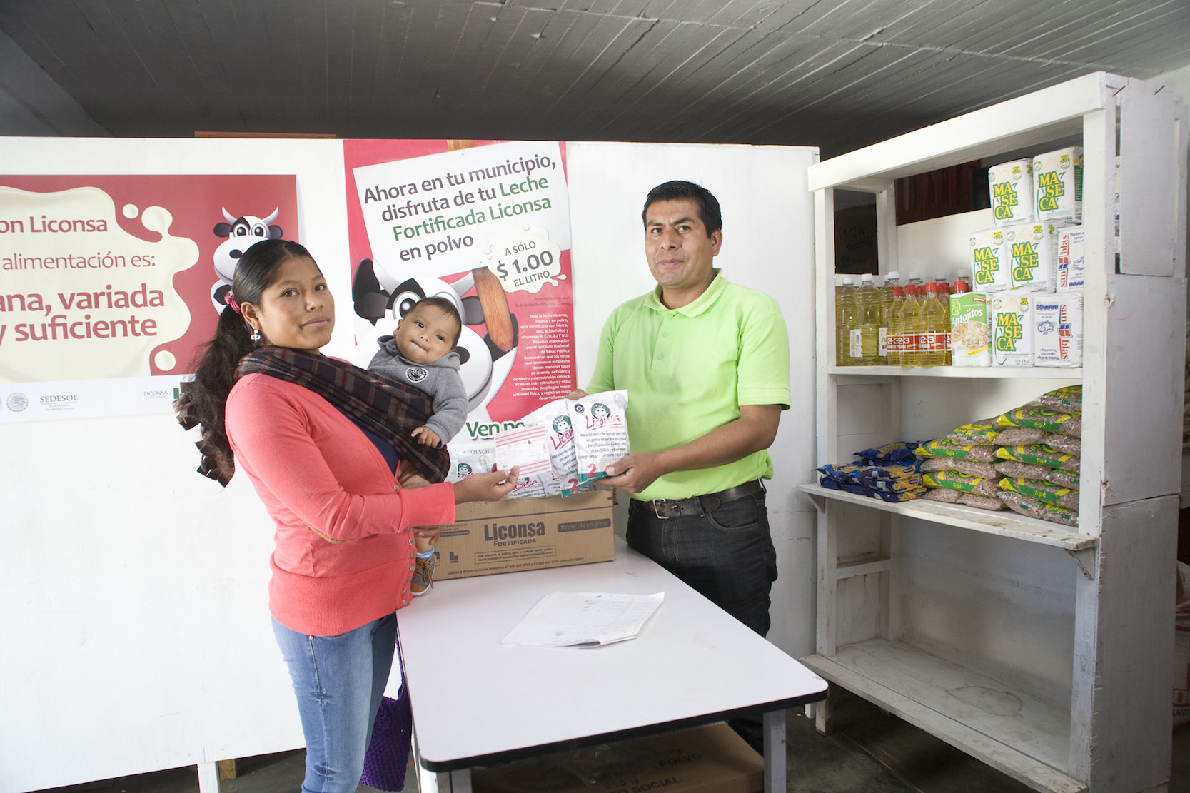 """""""A Peso el Litro"""" de Liconsa, creció en 63 mil 158 personas beneficiarias"""