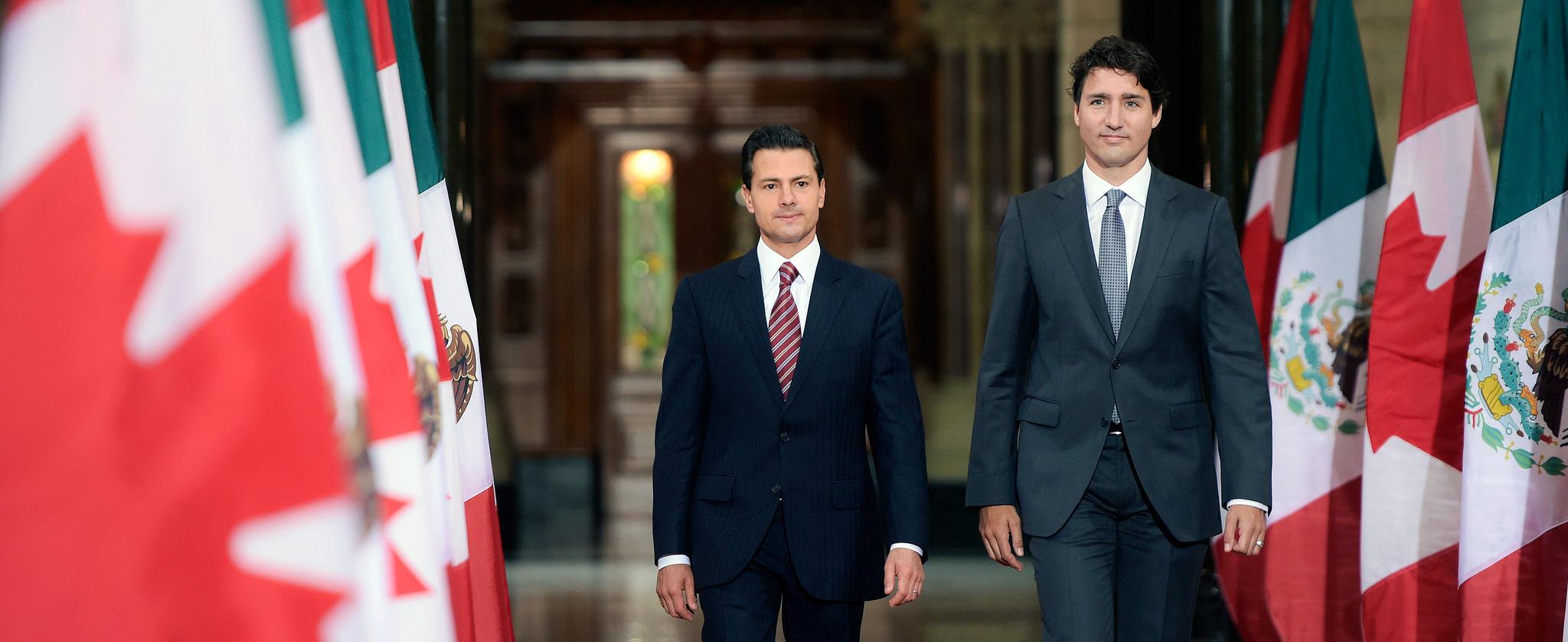 """""""Estoy seguro de que el diálogo continuo con el Primer Ministro Trudeau mejorará sin duda nuestra colaboración con el Gobierno canadiense para avanzar en nuestros objetivos compartidos"""": EPN"""