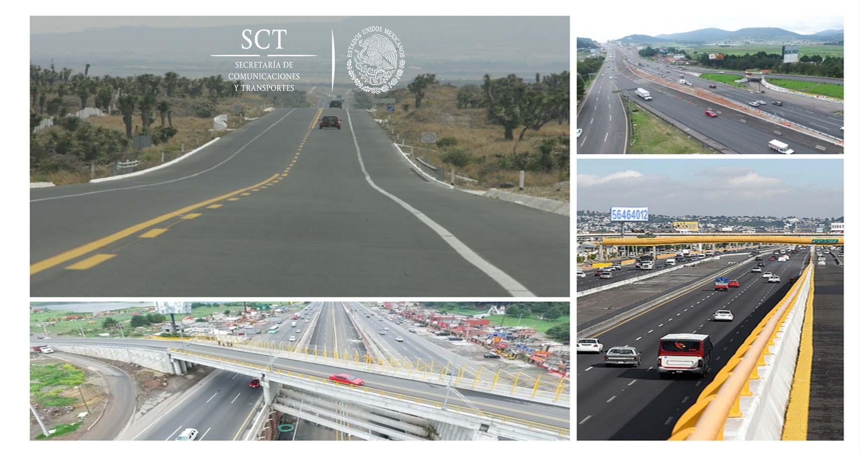 En la actual administración, 6 mil 500 kilómetros de nuevas autopistas: GRE