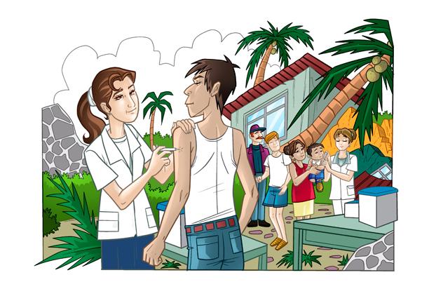 Vacunación en situaciones de desastre