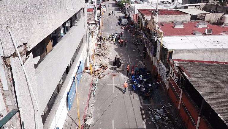 Aplicación de nuevas tecnologías para la inspección aérea de estructuras y evaluación de daños en inmuebles afectados por un sismo, minimizando el riesgo para el ser humano.