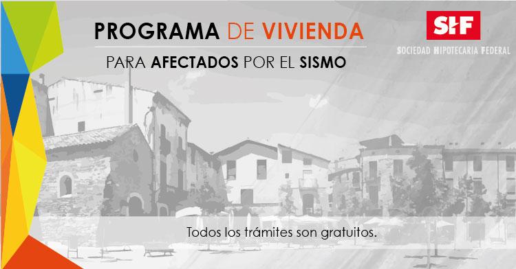 Programa de Vivienda Interior del país.