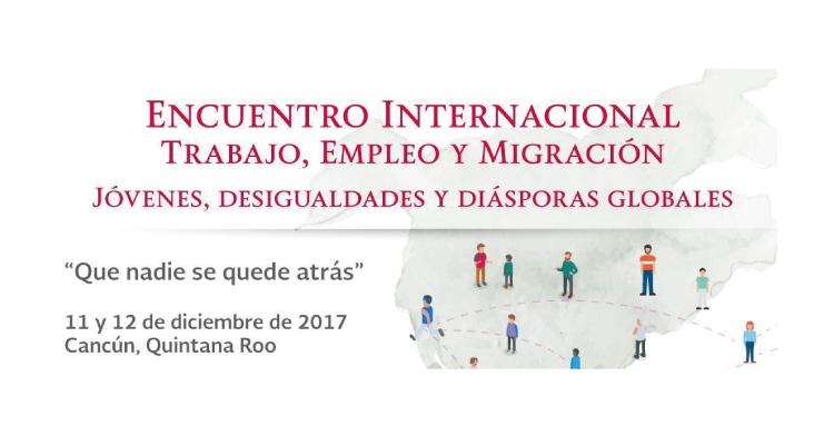 """Participa en el """"Encuentro Internacional sobre Trabajo, Empleo y Migración Juvenil"""""""