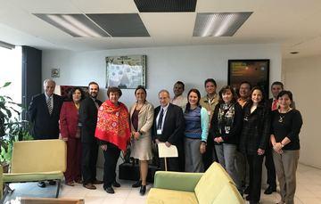 Firma de Convenio de Colaboración entre el ININ y el INECC