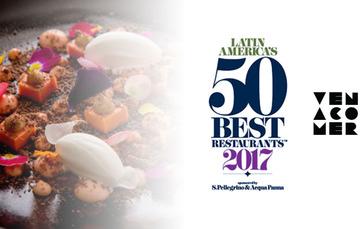 """13 restaurantes mexicanos entre los 50 mejores de América Latina en la lista """"Latin America's 50 Best Restaurants 2017"""""""
