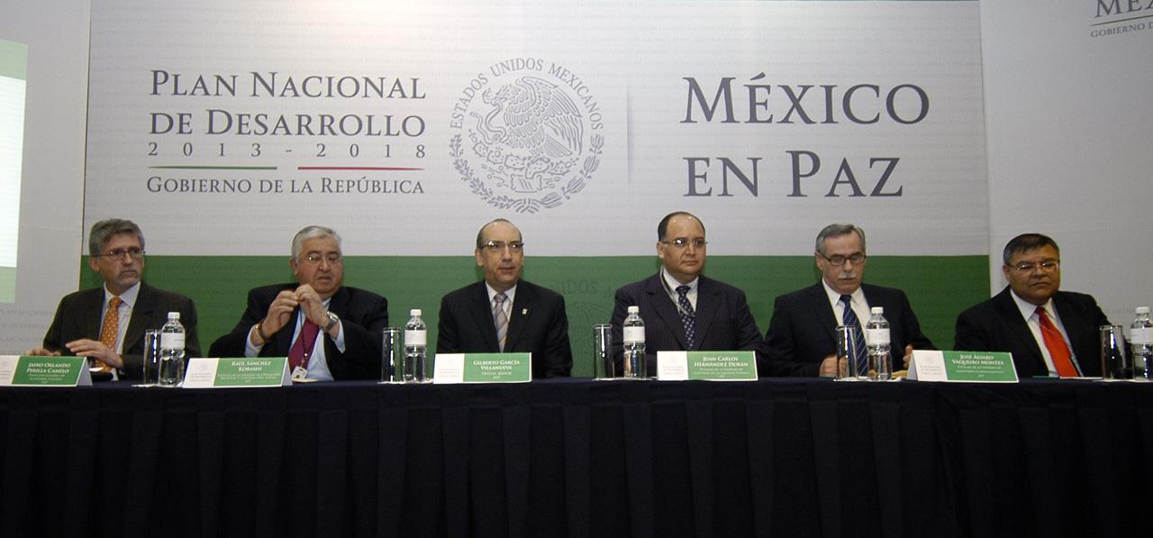 Contin an mesas sectoriales en sfp para elaborar pnd 2013 for Mesa funcion publica
