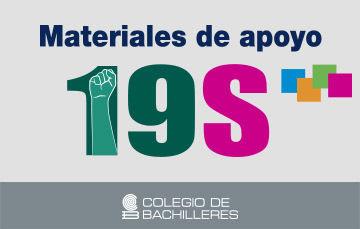 Materiales de Apoyo 19-S.