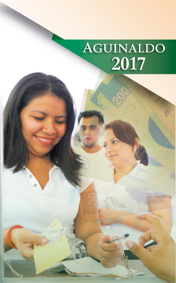 Portada del folleto de Aguinaldo 2017