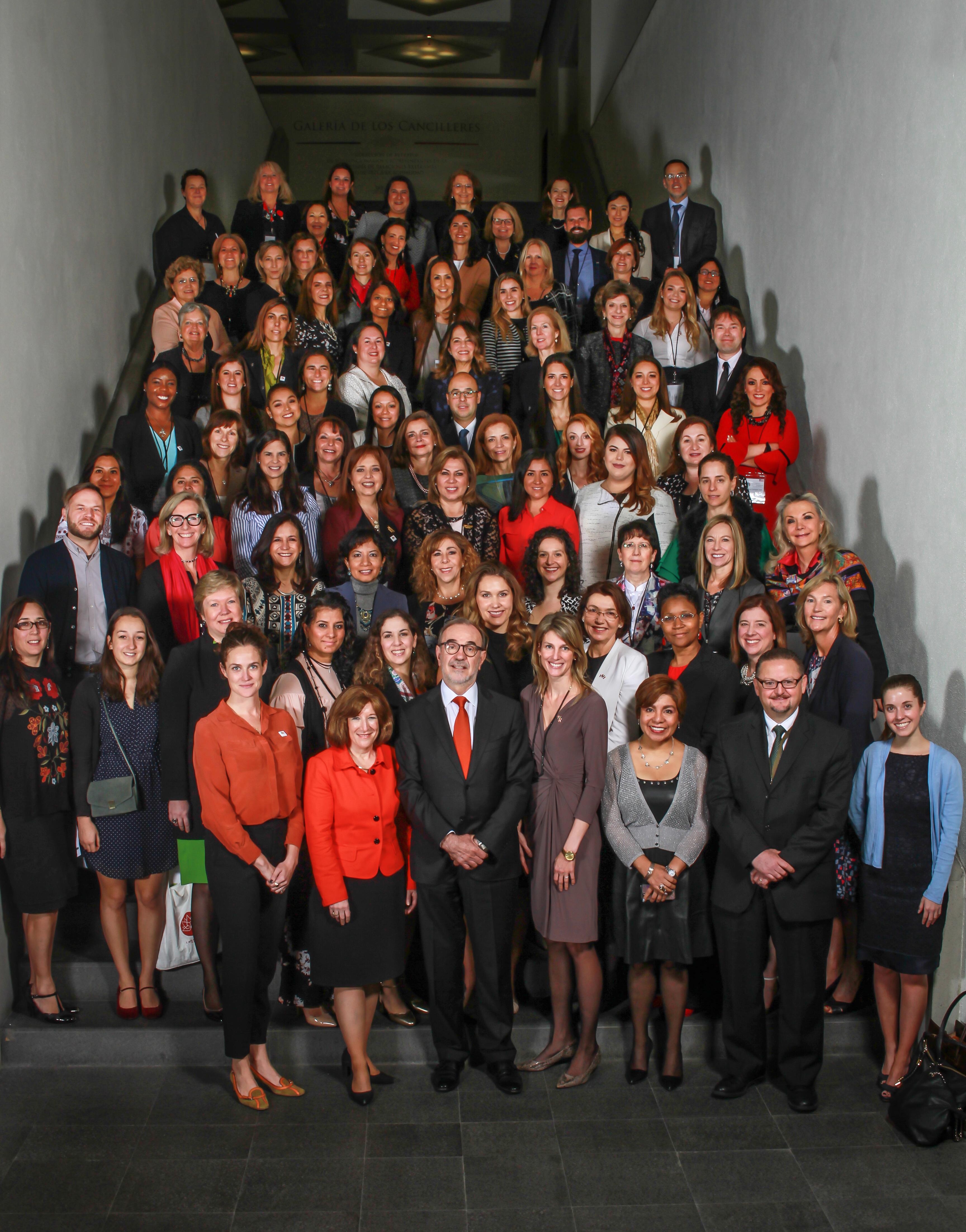 El Subsecretario para América del Norte inauguró la Misión Trilateral de Desarrollo Empresarial para Mujeres de América del Norte.