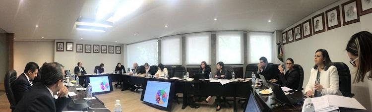 Reunión entre la Secretaría de la Función Pública (SFP) y el Consejo Coordinador Empresarial (CCE) para mostrar avances en la digitalización de trámites y servicios.
