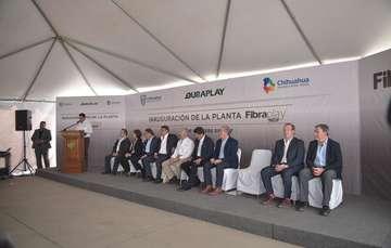 Inauguración de la planta FibraPlay
