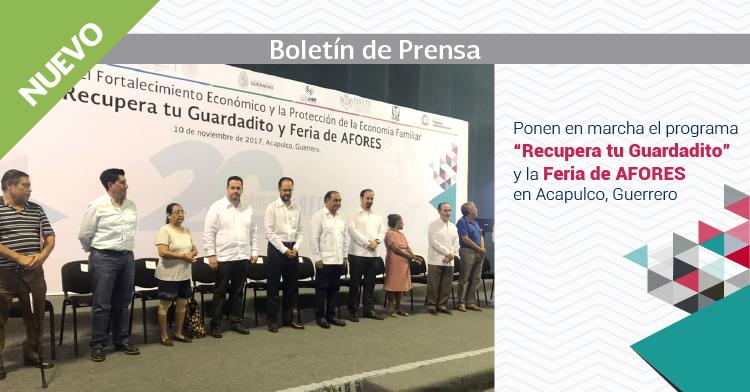Más de 42 Mil Guerrerenses son candidatos a recuperar su Ahorro para el Retiro: Héctor Astudillo.