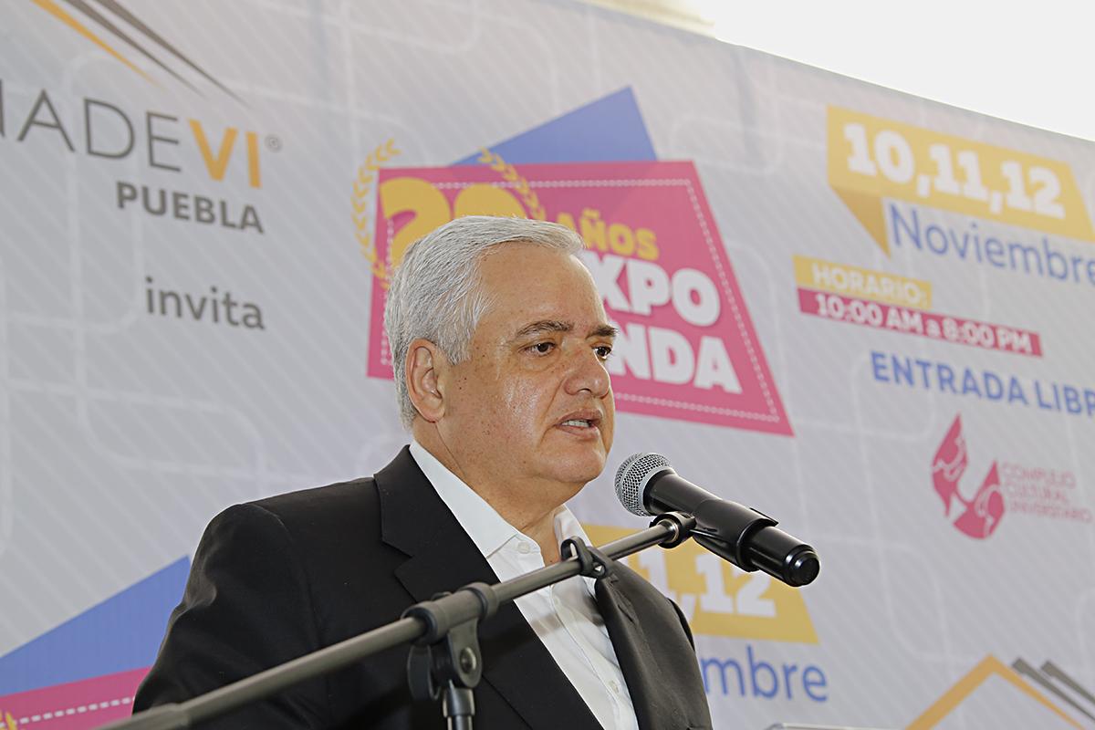 El Vocal Ejecutivo resaltó que en Puebla se destinarán alrededor de 3 mil créditos para el 2018.