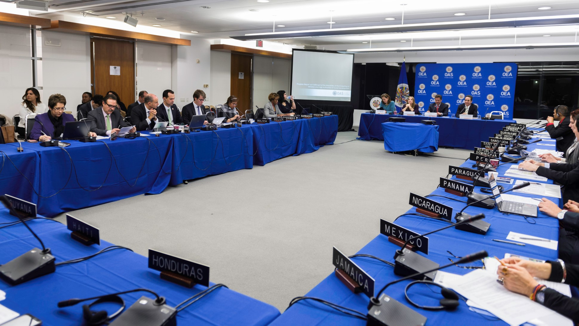 Reunión de la Comisión Interamericana de Desarrollo Social de la Organización de los Estados Americanos