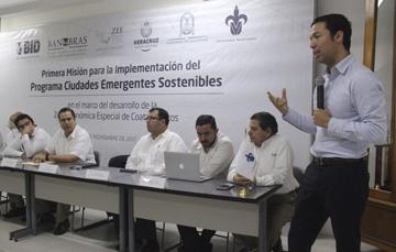Banobras participó en la Primera Misión para la Implementación del Programa Ciudades Emergentes Sostenibles