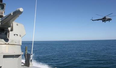 Continúan con el fortalecimiento del operativo en el Alto Golfo de California.