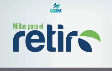 """Infografía """"Millas para el Retiro"""""""