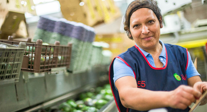 Mujeres en la agroindustria