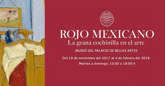 Exposición Rojo Mexicano ¡no te la pierdas!