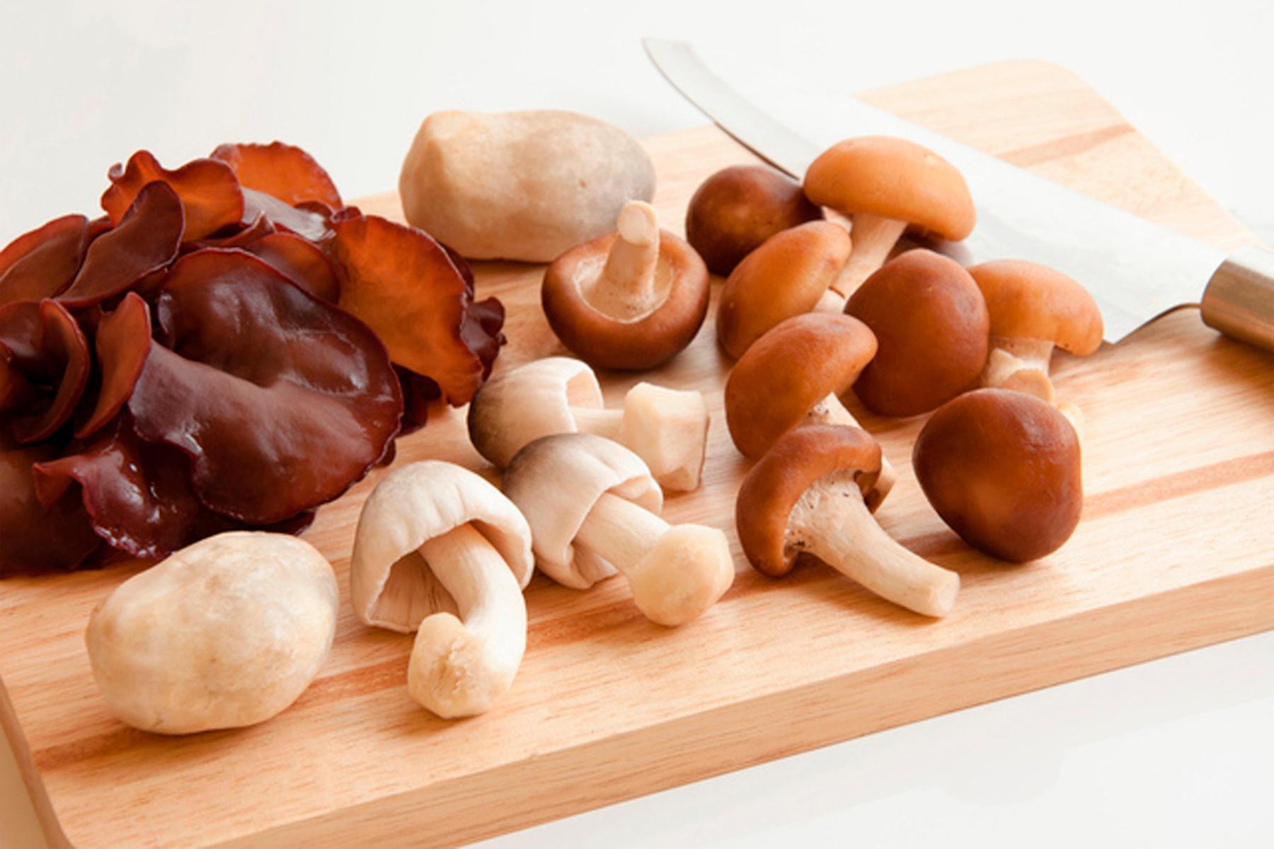 Puedes utilizar cualquier tipo de hongo para la receta