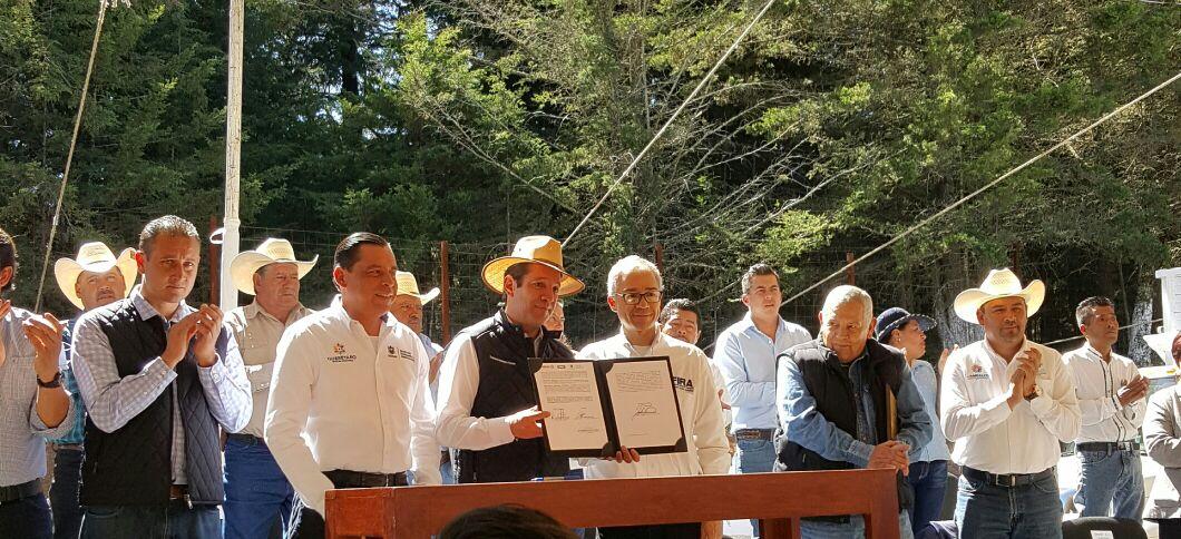Firma FIRA convenio marco de colaboración con Gobierno del Estado de Querétaro