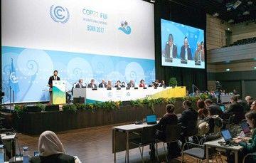 Resuena en la COP 23 exhorto de México a actuar con premura ante el cambio climático