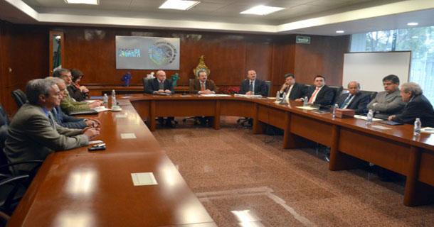 Reunión en SAGARPA México