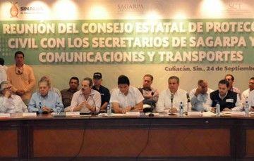 La mayor parte de cultivos dañados en Sinaloa cuenta con seguro agrícola: SAGARPA