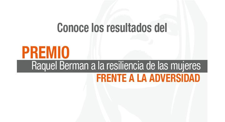 Resultados del Premio Raquel Berman