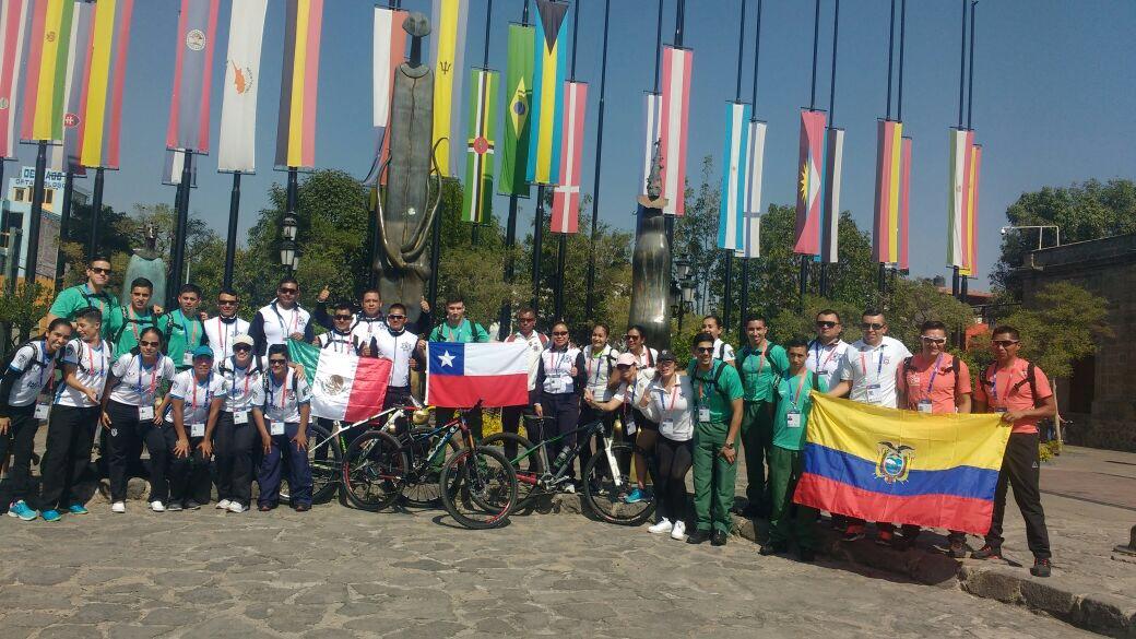 Integrantes de instituciones policiales de 19 naciones, participan en 21 disciplinas deportivas en la ciudad de Guadalajara, Jalisco