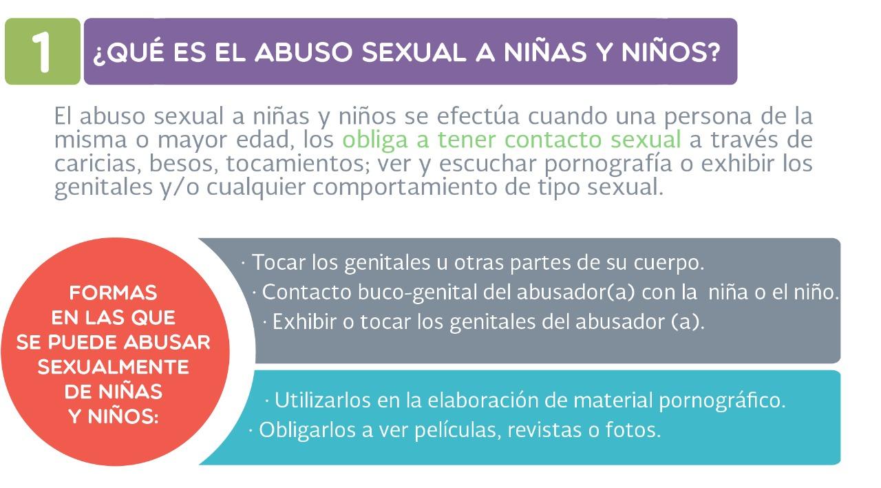 ¿Sabes qué es el abuso sexual a niñas y niños?