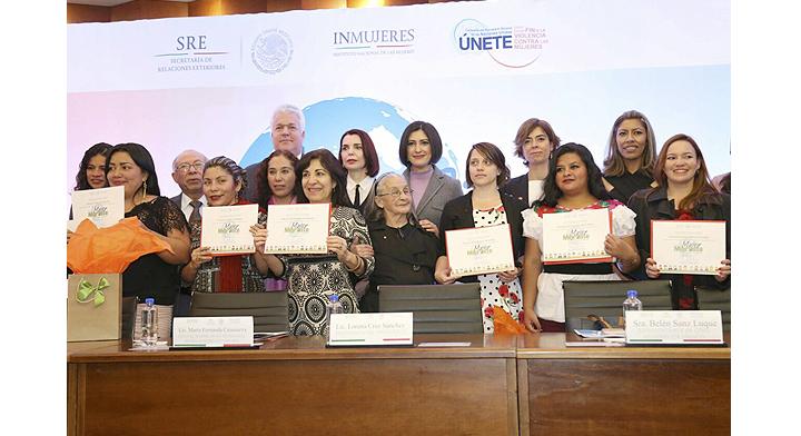 Ganadoras del Concurso Mujer Migrante, Cuéntame tu Historia