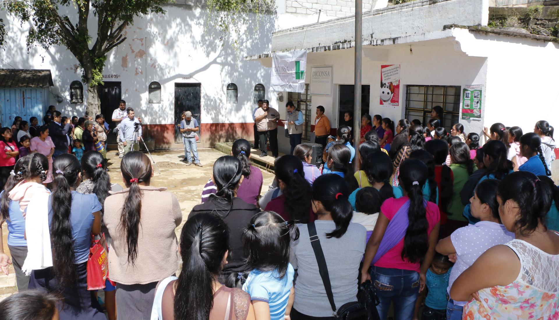 Liconsa reorientó padrón y abrió 728 lecherías en Oaxaca, Guerrero y Chiapas