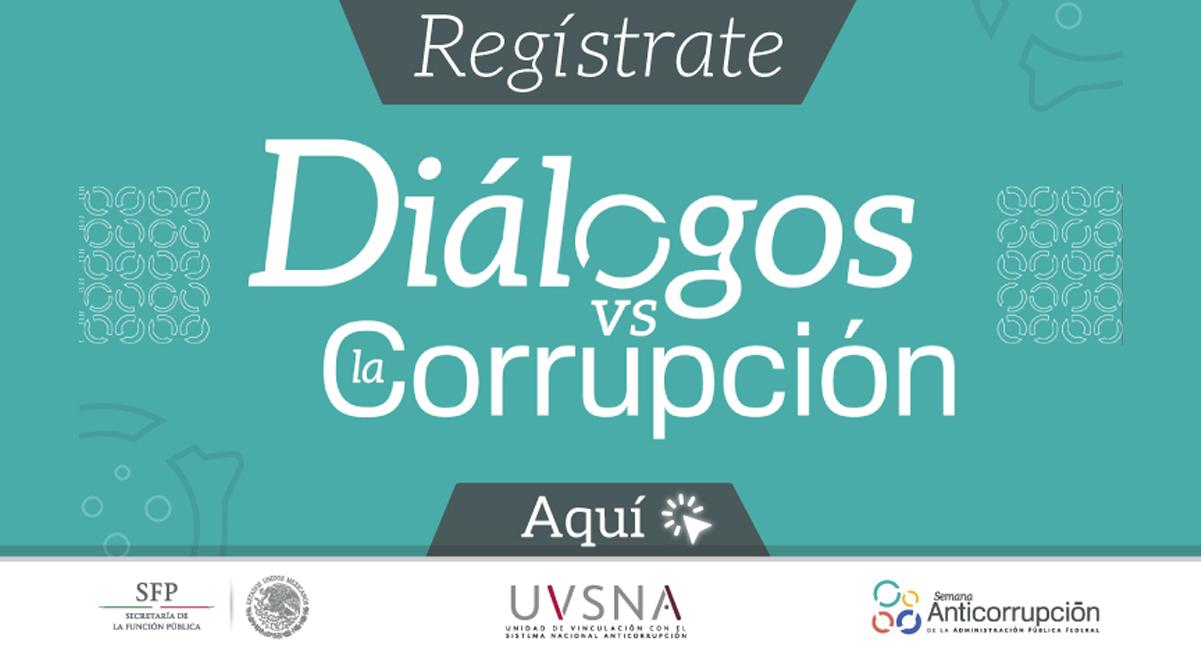 Registro al seminario Diálogos vs la Corrupción