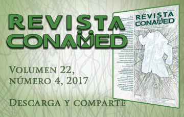 Revista CONAMED, Volumen 22, Número 4, 2017