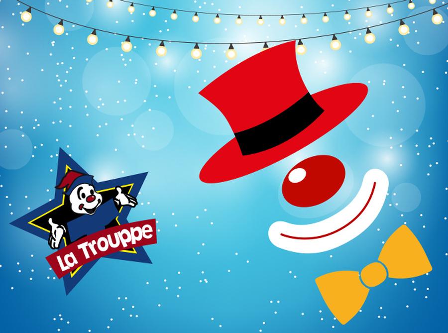 La compañía teatral La Trouppe está de vuelta en Lunario para provocar la risa de toda la familia espectáculo navideño.