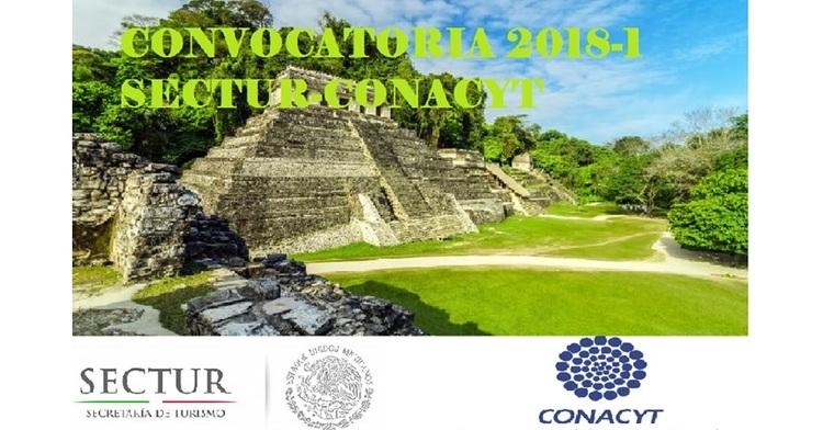 Convocatoria 2018-01 del Fondo Sectorial SECTUR-CONACYT