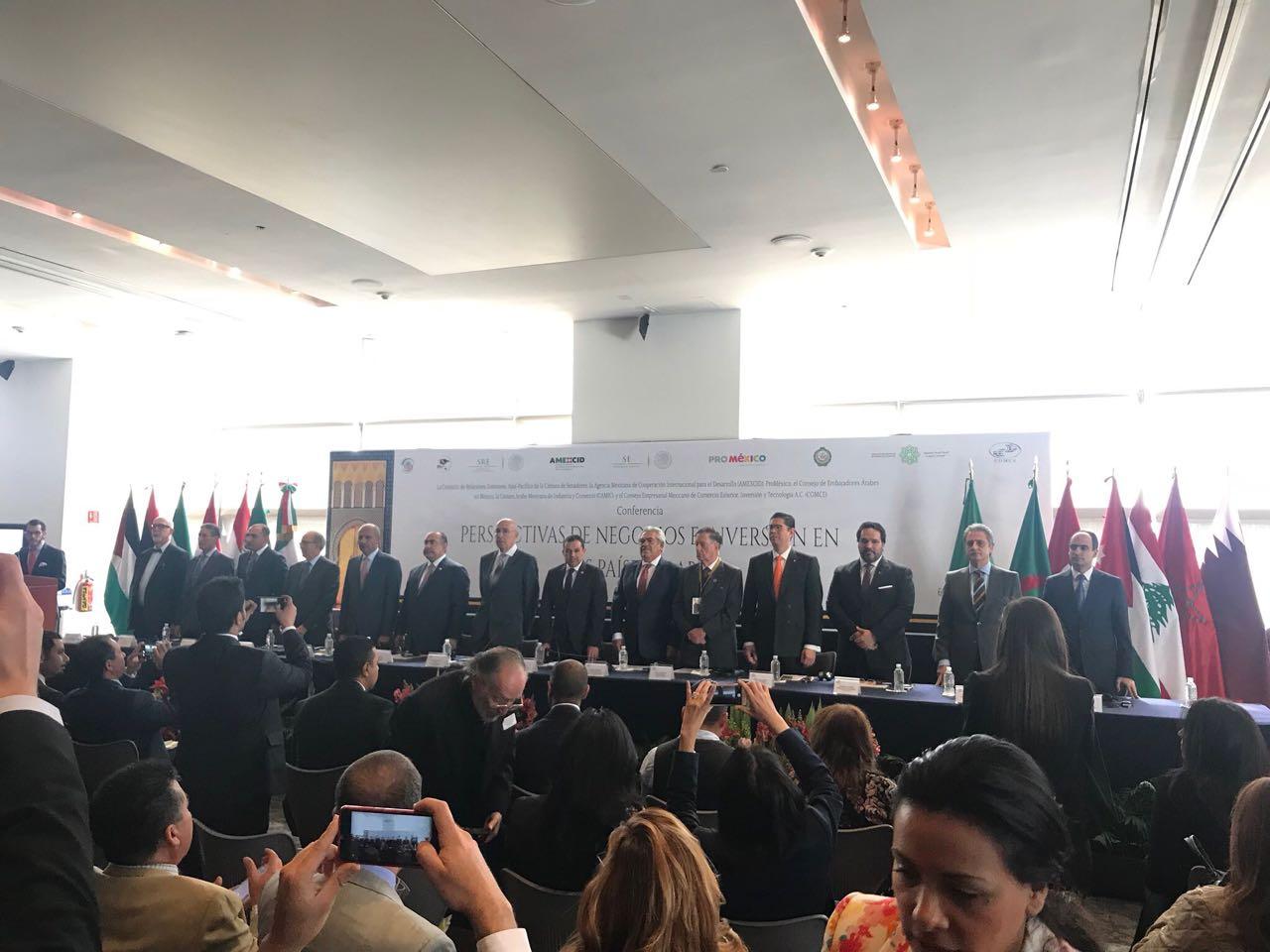 ProMéxico afianza compromiso comercial con Países Árabes