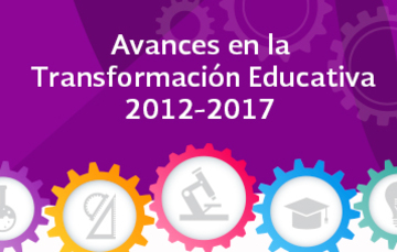 Avances en la transformación educativa 2012-2017
