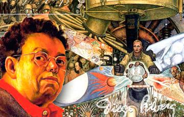 Diego Rivera. Nació hace 131 años, el 8 de diciembre de 1886 en Guanajuato, Guanajuato.