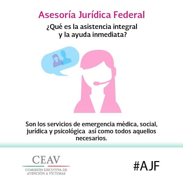 ¿Qué es la asistencia integral y la ayuda inmediata?