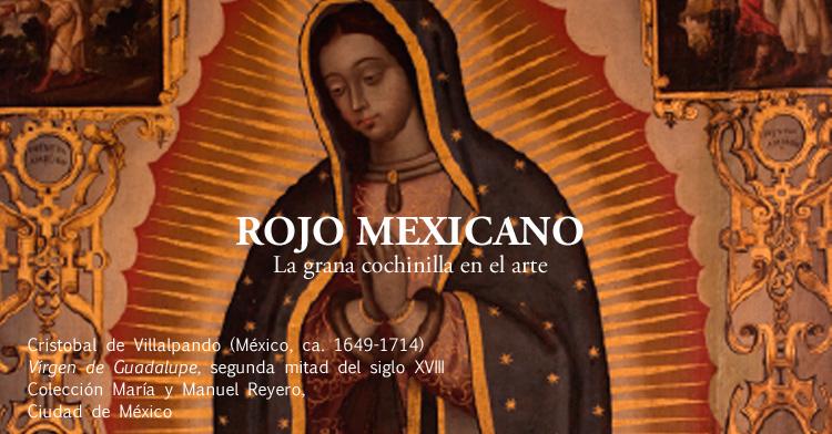 Cristobal de Villalpando (México, ca. 1649-1714)  Vírgen de Guadalupe, segunda mitad del siglo XVIII  Colección María y Manuel Reyero,  Ciudad de México.
