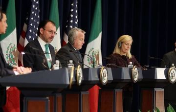Foreign Secretary Videgaray at the second High-level Dialogue on Disrupting Transnational Criminal Organizations