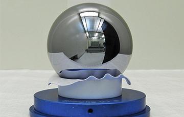 Estas esferas surgen como una posibilidad para ser utilizadas como patrones de masa de alta exactitud