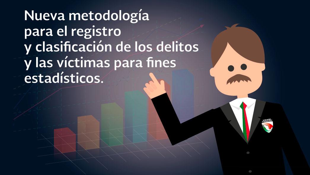 Nueva metodología para el registro y clasificación de los delitos y las víctimas para fines estadísticos