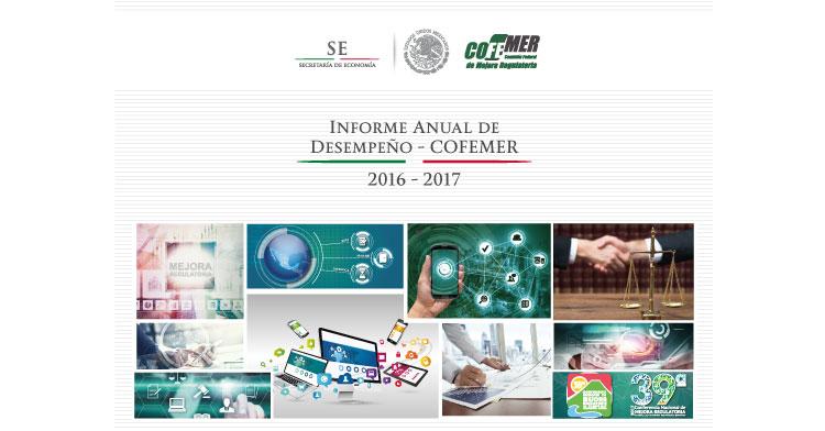 Informe Anual de Desempeño-COFEMER 2016-2017