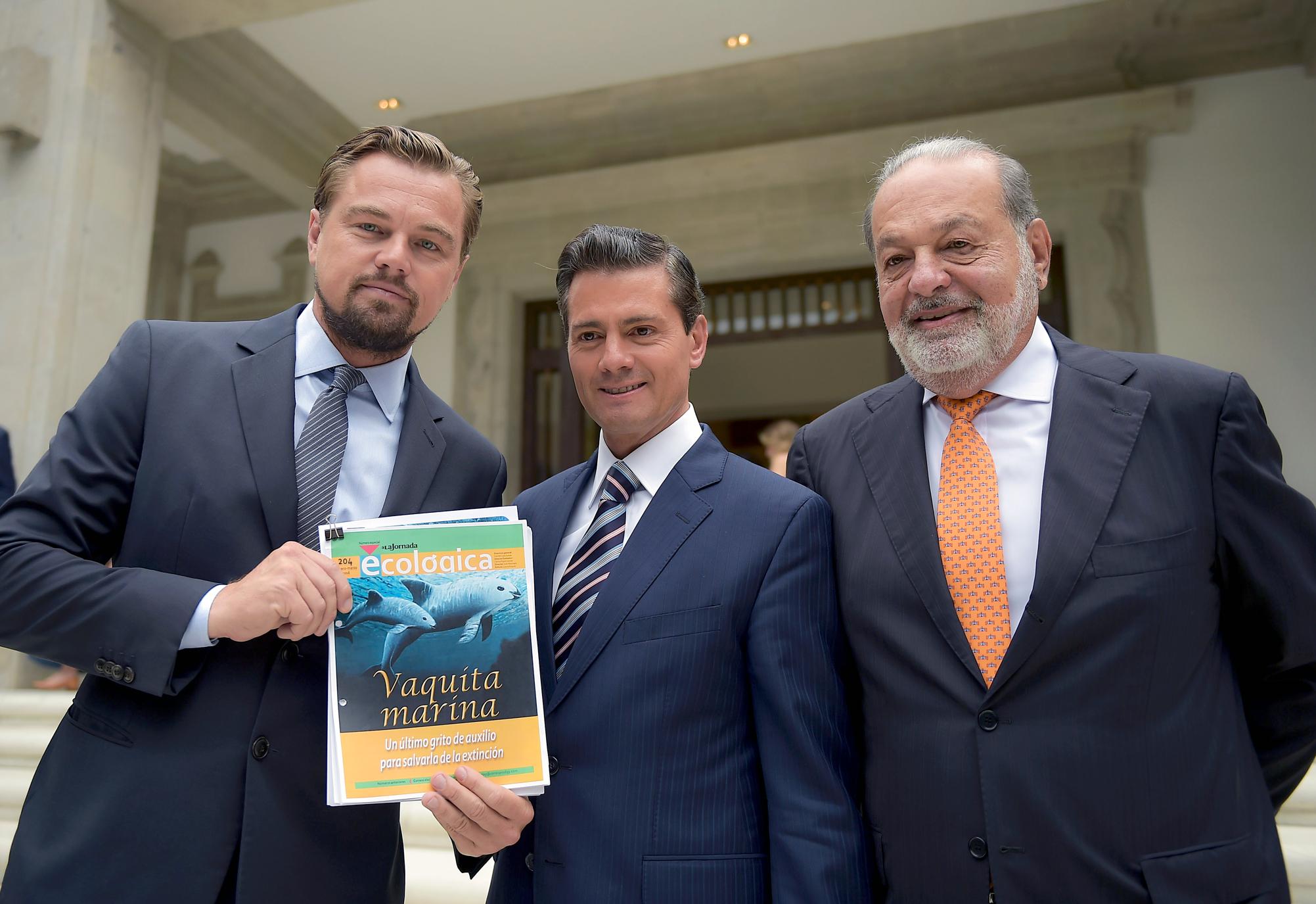 Se dará seguimiento al Memorándum de Entendimiento por el cual se acordó adquirir mayores compromisos para proteger los ecosistemas marinos en el Golfo de California, firmado por el Presidente Enrique Peña Nieto, Leonardo DiCaprio y Carlos Slim.