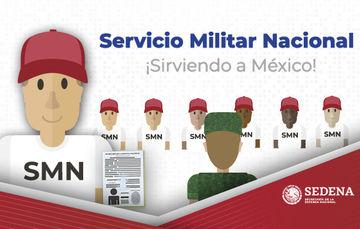 Imágenes animadas del Servicio Militar Nacional.