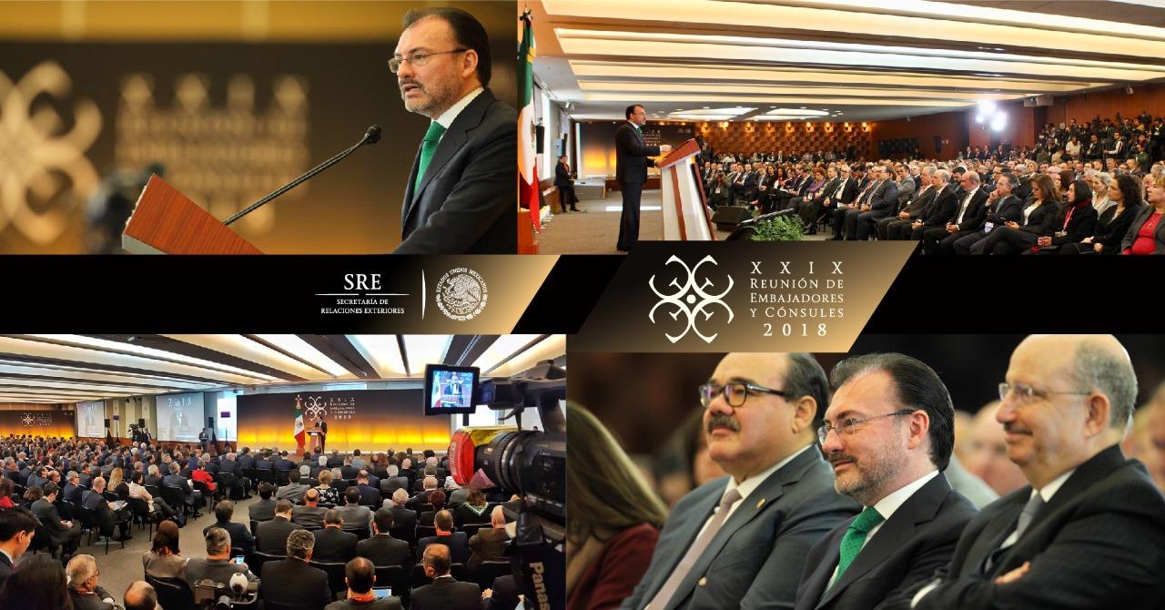 Discurso del Canciller Luis Videgaray Caso en la XXIX Reunión de Embajadores y Cónsules